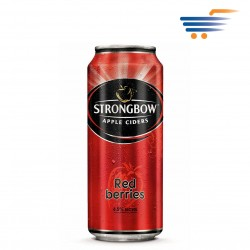 STRONGBOW APPLE CIDERS RED BERRIES 330ML
