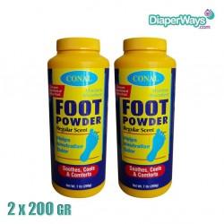 CONAL FOOT CARE POWDER 2X200GR
