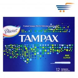 TAMPAX SUPER 3X20PCS
