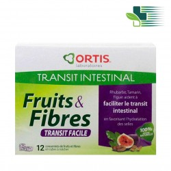 ORTIS FRUITS & FIBRES FOOD SUPPLEMENT (12 CUBES)