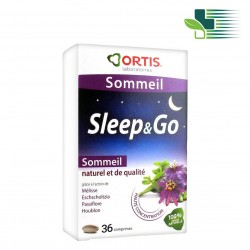 ORTIS SLEEP AND GO FOOD SUPPLEMENT (36 TABLETS)