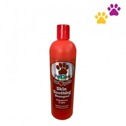 PETCARE SKIN SOOTHING SHAMPOO WITH STRAWBERRY AND ALOE 414ML