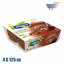 ALPRO SOYA SMOOTH CHOCOLATE DESSERT 4X125GR
