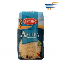 CURTIRISO LONG GRAIN RICE PARBOILED AMPRA 1KG