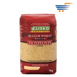 LISKO BULGUR WHEAT MEDIUM 1KG