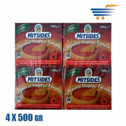 MITSIDES TOMATO PASSATA 4X500GR