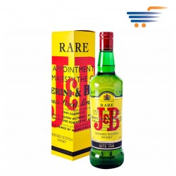 J&B RARE BLENDED SCOTCH WHISKY 1LT