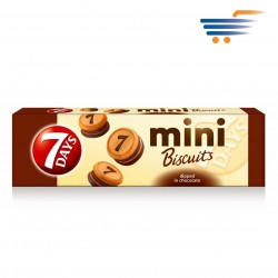 7 DAYS MINI BISCUITS DIPPED IN CHOCOLATE 100GR