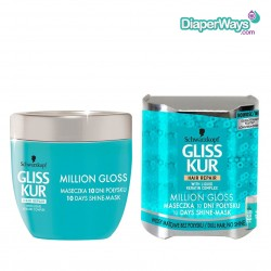 GLISS HAIR REPAIR MILLION GLOSS ΜΑΣΚΑ ΛΑΜΨΗΣ 10 ΗΜΕΡΩΝ 150ΜΛ