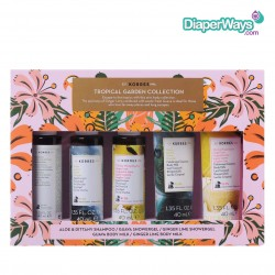 KORRES TROPICAL GARDEN COLLECTION (5 PRODUCTS)