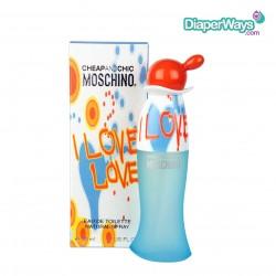 MOSCHINO CHEAP AND CHIC I LOVE LOVE EAU DE TOILETTE 50ML