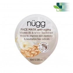 NUGG ANTI-AGING FACE MASK WITH VITAMIN B3 AND WHITE TEA EXTRACT 10ML