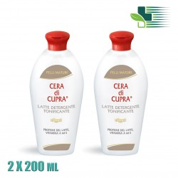 CERA DI CUPRA CLEANSING MILK 2X200ΜL