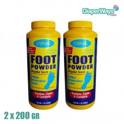 CONAL FOOT CARE POWDER 2X200GR