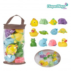 BO JUNGLE - BATH FRIENDS 12PCS 0+MONTHS