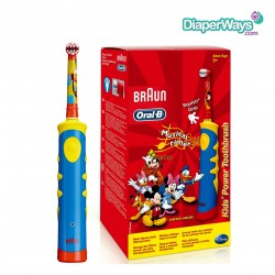 BRAUN ORAL-B KIDS ΕΠΑΝΑΦΟΡΤΙΖΟΜΕΝΗ ΟΔΟΝΤΟΒΟΥΡΤΣΑ - MICKEY MOUSE 3+ ΧΡΟΝΩΝ