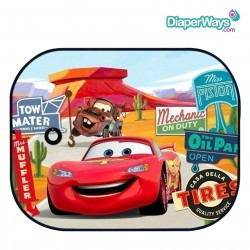 DISNEY CARS SUNSHADE FOR CAR WINDOW (2 PIECES)
