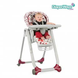 CHICCO POLLY PROGRES5 HIGHCHAIR 0+ MONTHS (MAX 15KG)