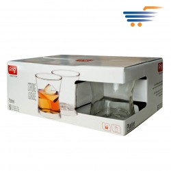 FNG PLATINE WHISKEY GLASS 14OZ (6PCS)