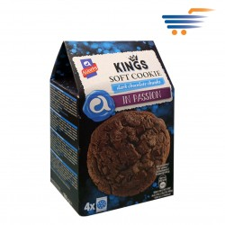 ALLATINI KINGS SOFT COOKIES DARK CHOCOLATE CHUNKS (4X45GR)