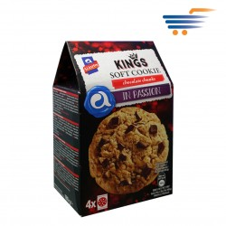 ALLATINI KINGS SOFT COOKIES CHOCOLATE CHUNKS (4X45GR)