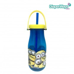 DESPICABLE ME TRITAN MILK BOTTLE WITH HANDLE 370ML