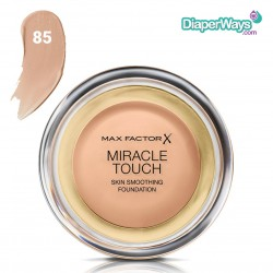 MAX FACTOR MIRACLE TOUCH SKIN SMOOTHING FOUNDATION (CARAMEL 85)