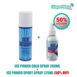 ICE POWER ΨΥΚΤΙΚΟ ΣΠΡΕΫ 200ML + ICE POWER SPORT ΣΠΡΕΫ 125ML (50% ΕΚΠΤΩΣΗ)