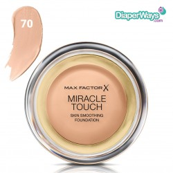 MAX FACTOR MIRACLE TOUCH SKIN SMOOTHING FOUNDATION (NATURAL 70)