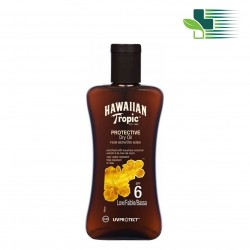 HAWAIiAN TROPIC PROTECTIVE DRY OIL COCONUT & PAPAYA SPF 6