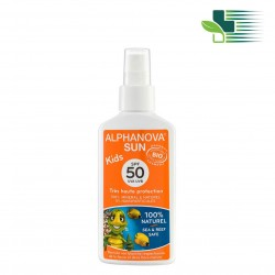ALPHANOVA SUN KIDS BIO SUNSCREEN SPRAY  50 SPF  125GR