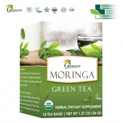 GRENERA MORINGA GREEN TEA - ΠΡΑΣΙΝΟ ΤΣΑΪ 20ΤΜΧ