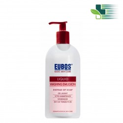 EUBOS BASIC SKIN CARE ΥΓΡΟ ΚΑΘΑΡΙΣΜΟΥ 400ML (ΚΟΚΚΙΝΟ)