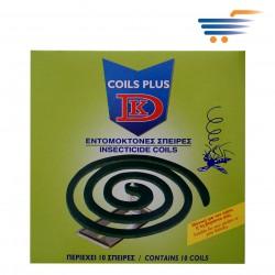 DK COILS PLUS - INSECTICIDE COILS (10PCS)