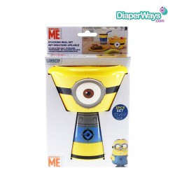 MINIONS - STACKING MEAL SET 3+MONTHS