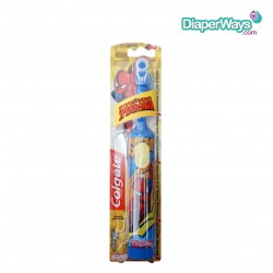 COLGATE POWERED TOOTHBRUSH EXTRA SOFT SPIDERMAN 3+ YEARS (BLUE)