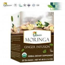GRENERA MORINGA GINGER INFUSION 20PCS