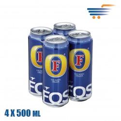 FOS ΜΠΥΡΑ 4X500ML