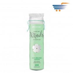 CLEANIC HOME SPA RITUALS COTTON PADS (100PCS)
